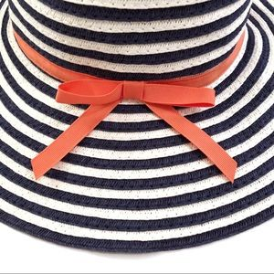 Janie and Jack Accessories - Janie & Jack baby infant girls striped summer hat